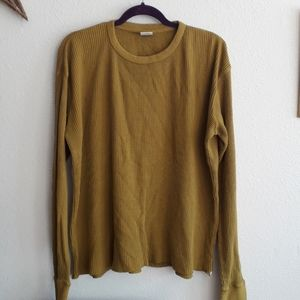 Urban Outfitters Thermal Waffle T shirt